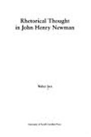 Rhetorical Thought in John Henry Newman